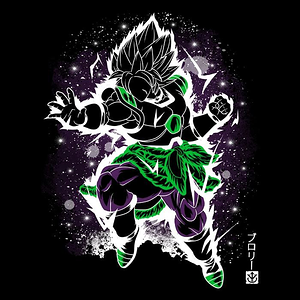 Once Upon a Tee: The Legendary Saiyan