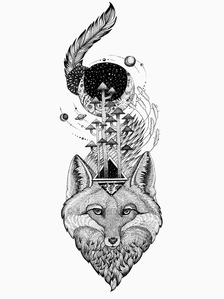 RedBubble: Fox Space Forest
