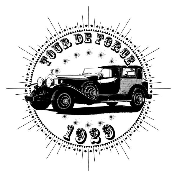 NeatoShop: Vintage Classic Car 1929 Tour De Force Rolls