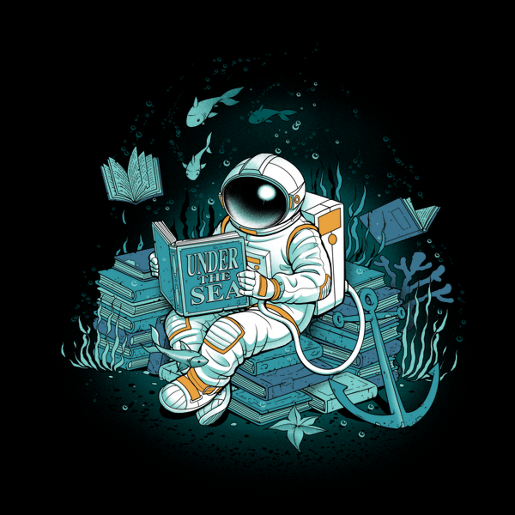 NeatoShop: A reader lives a thousand lives - Cosmonaut Under The Sea