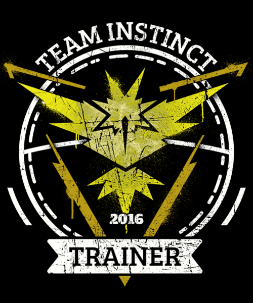 Qwertee: Team Instinct