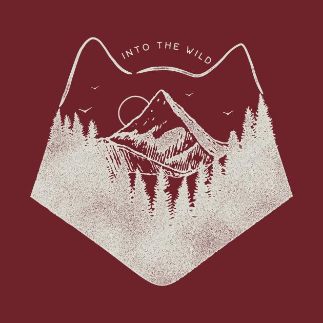 TeePublic: Into the Wild