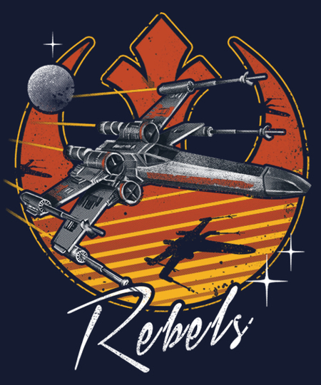 Qwertee: Retro Rebels