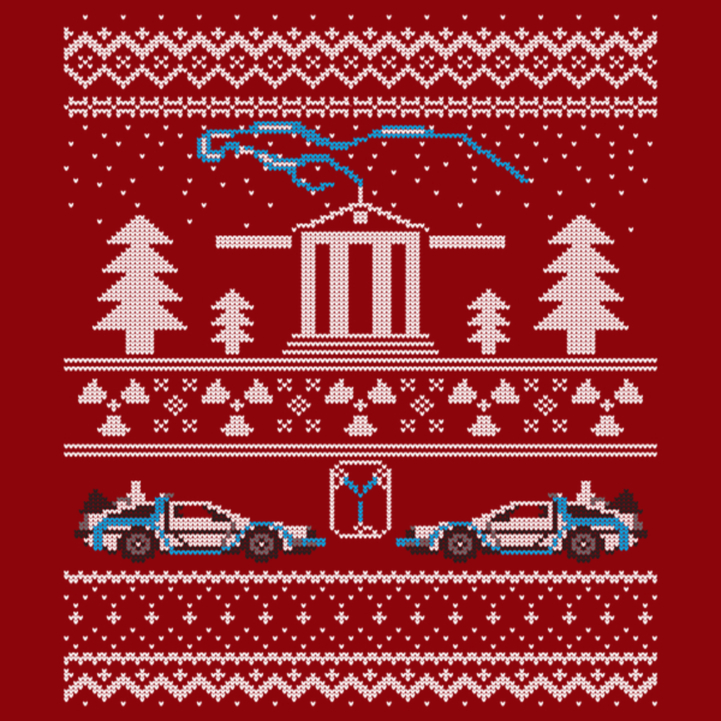 NeatoShop: BTTF Ugly Christmas Sweater