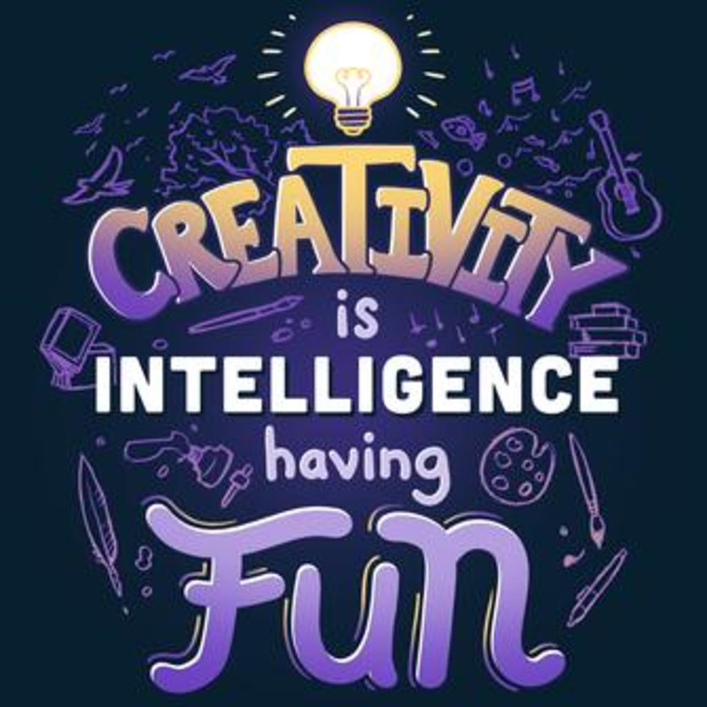 TeeTurtle: Creativity is Intelligence Having Fun