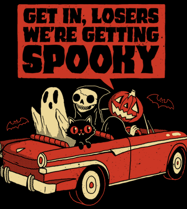 teeVillain: Getting Spooky
