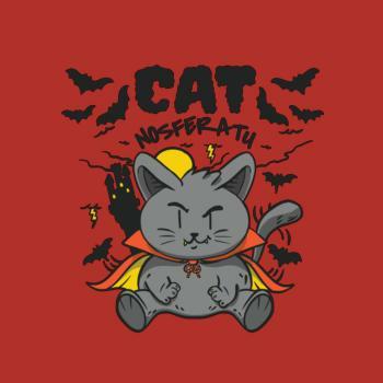 BustedTees: Nosferatu Cat
