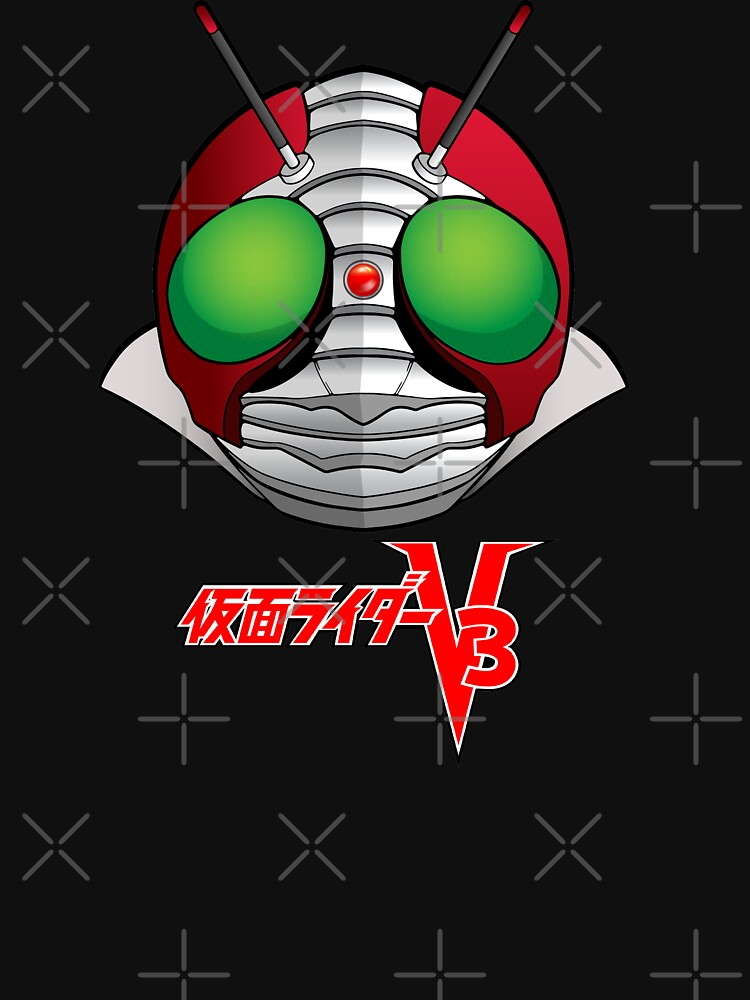 RedBubble: Kamen Rider V3 Masked Rider