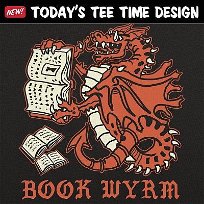 6 Dollar Shirts: Book Wyrm