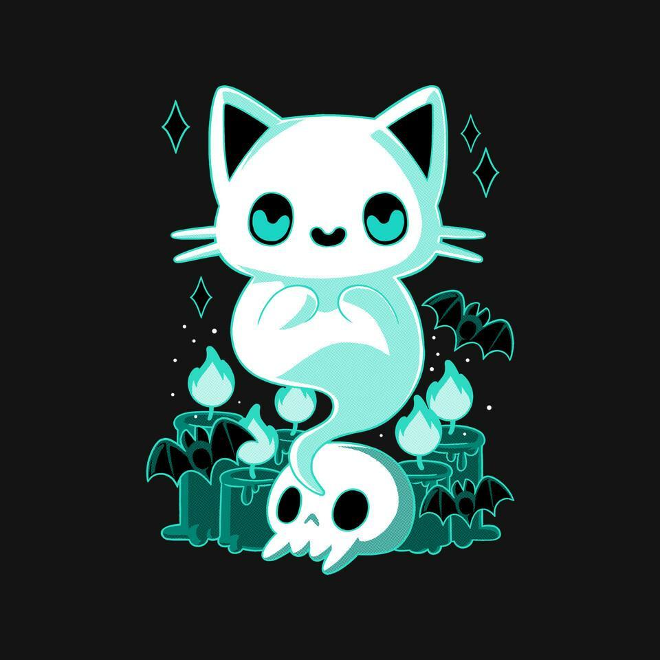 TeeFury: Ghost Cat