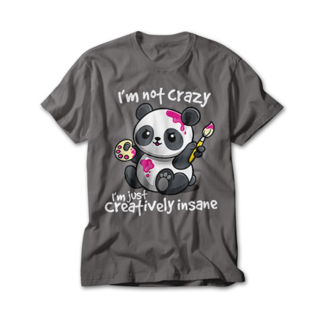 OtherTees: Creatively Insane Panda
