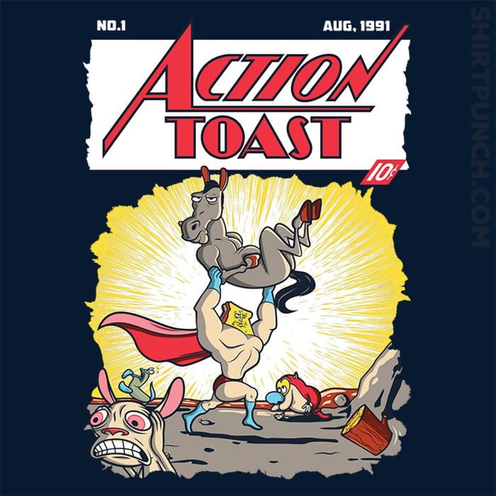 ShirtPunch: Action Toast
