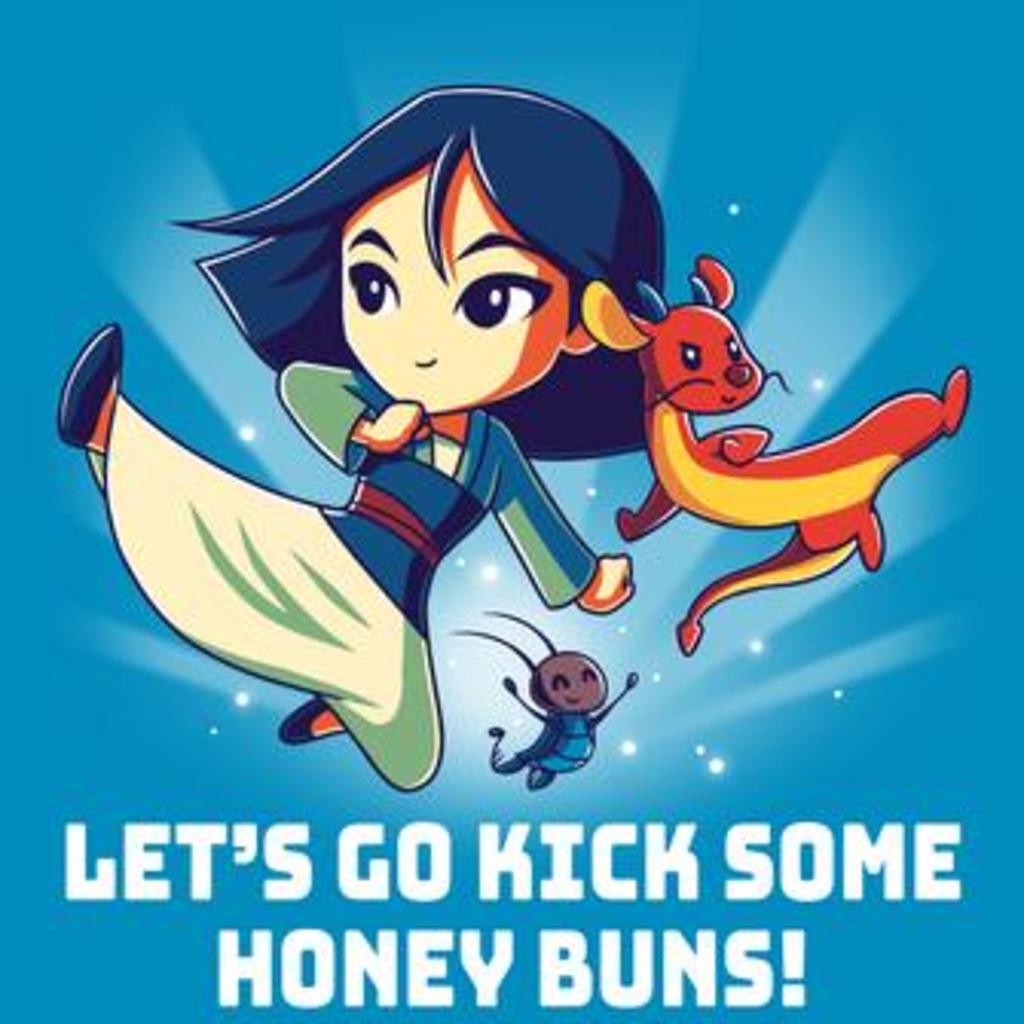 TeeTurtle: Kick Some Honey Buns