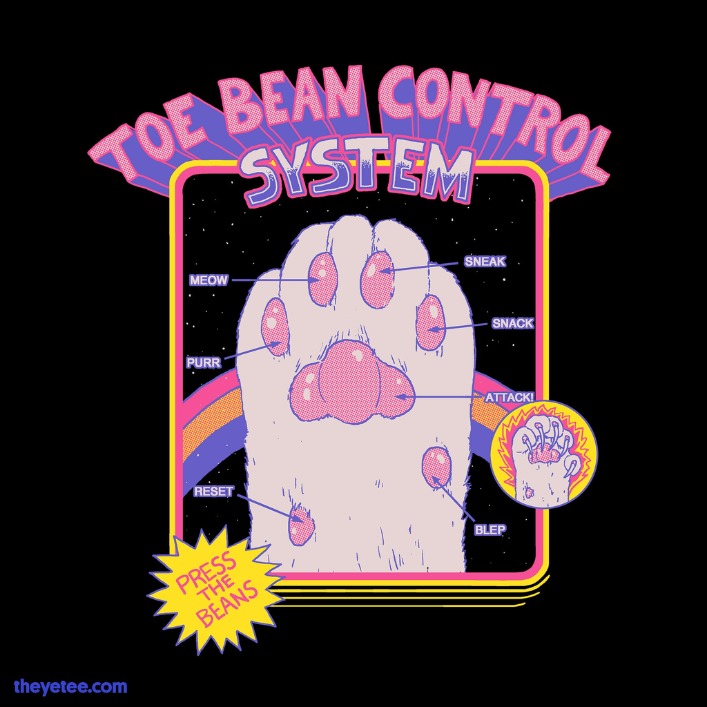 The Yetee: Toe Bean Control System