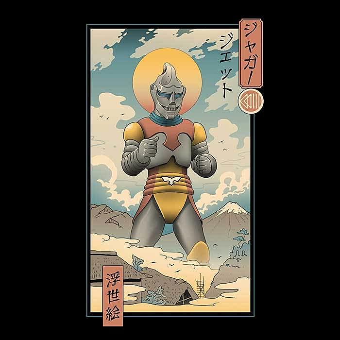 Once Upon a Tee: Jet Robo Ukiyo-e