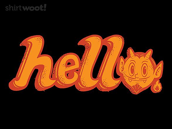 Woot!: Devilish Greeting