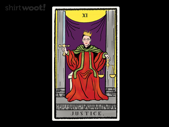 Woot!: Supreme Justice Tarot