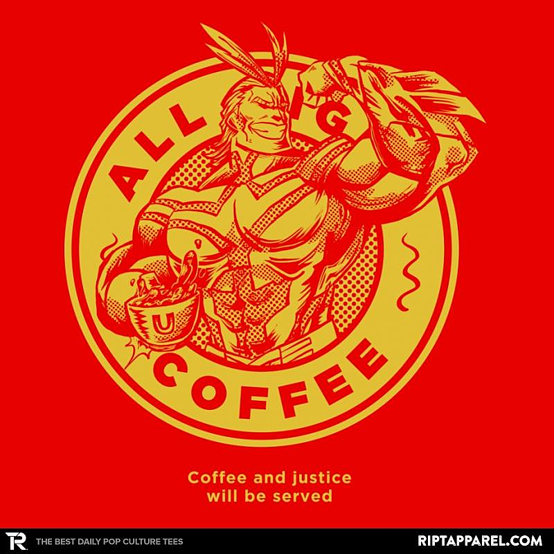 Ript: All Might Coffee