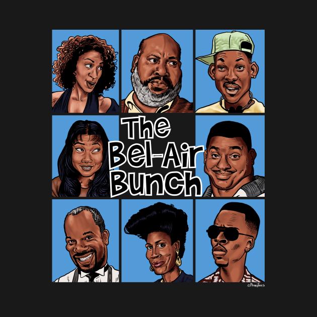 TeePublic: The Bel-Air Bunch
