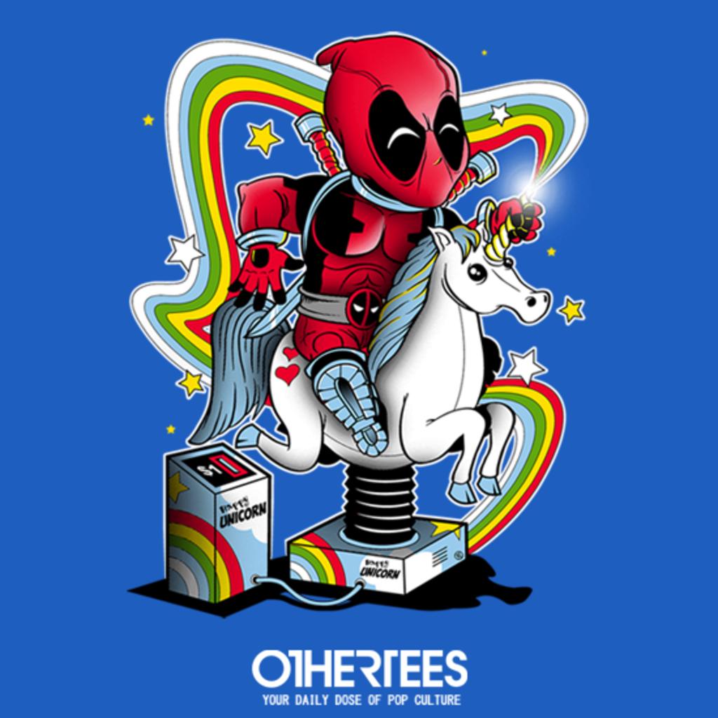 OtherTees: Happy Unicorn