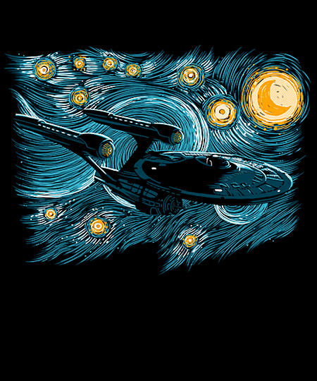 Qwertee: Starry Trek