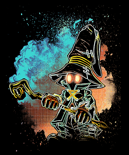 Qwertee: Soul of the Black Mage
