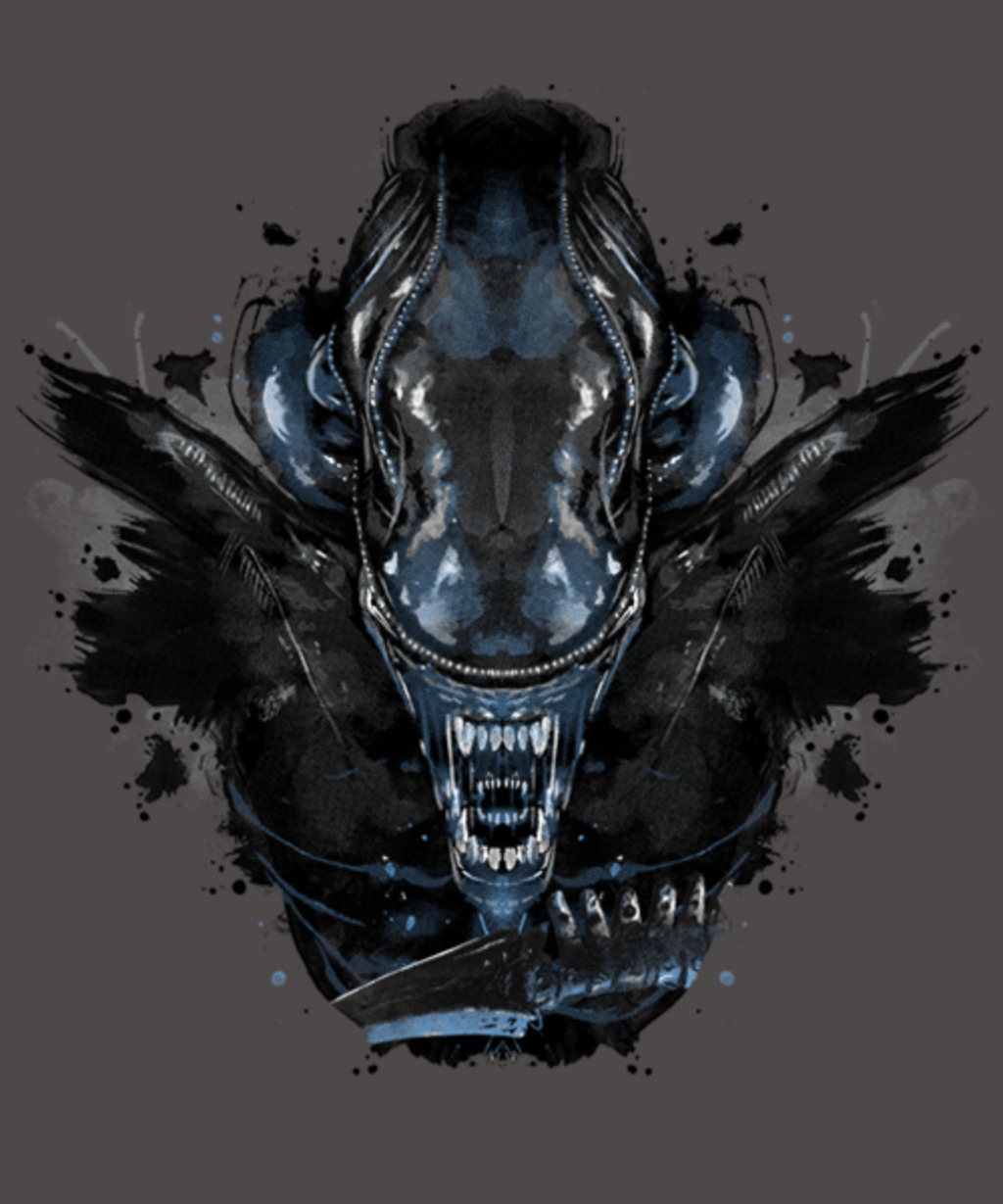 Qwertee: Alien Ink