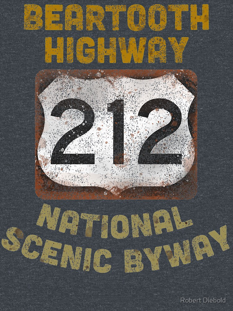 RedBubble: Beartooth Highway Yellowstone National Park