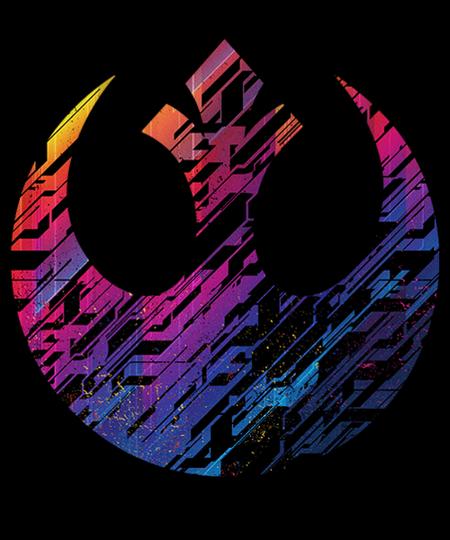 Qwertee: Rebel Emblem