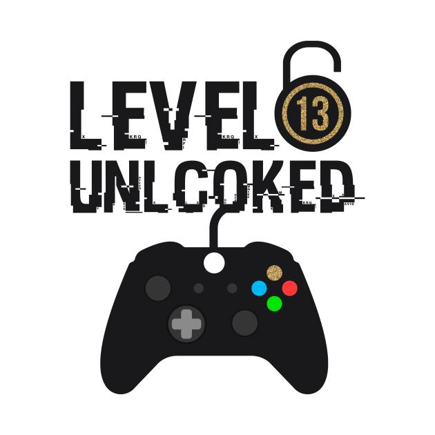 TeePublic: Level 13 unlcoked