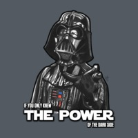 TeePublic: The Power Of The Dark Side