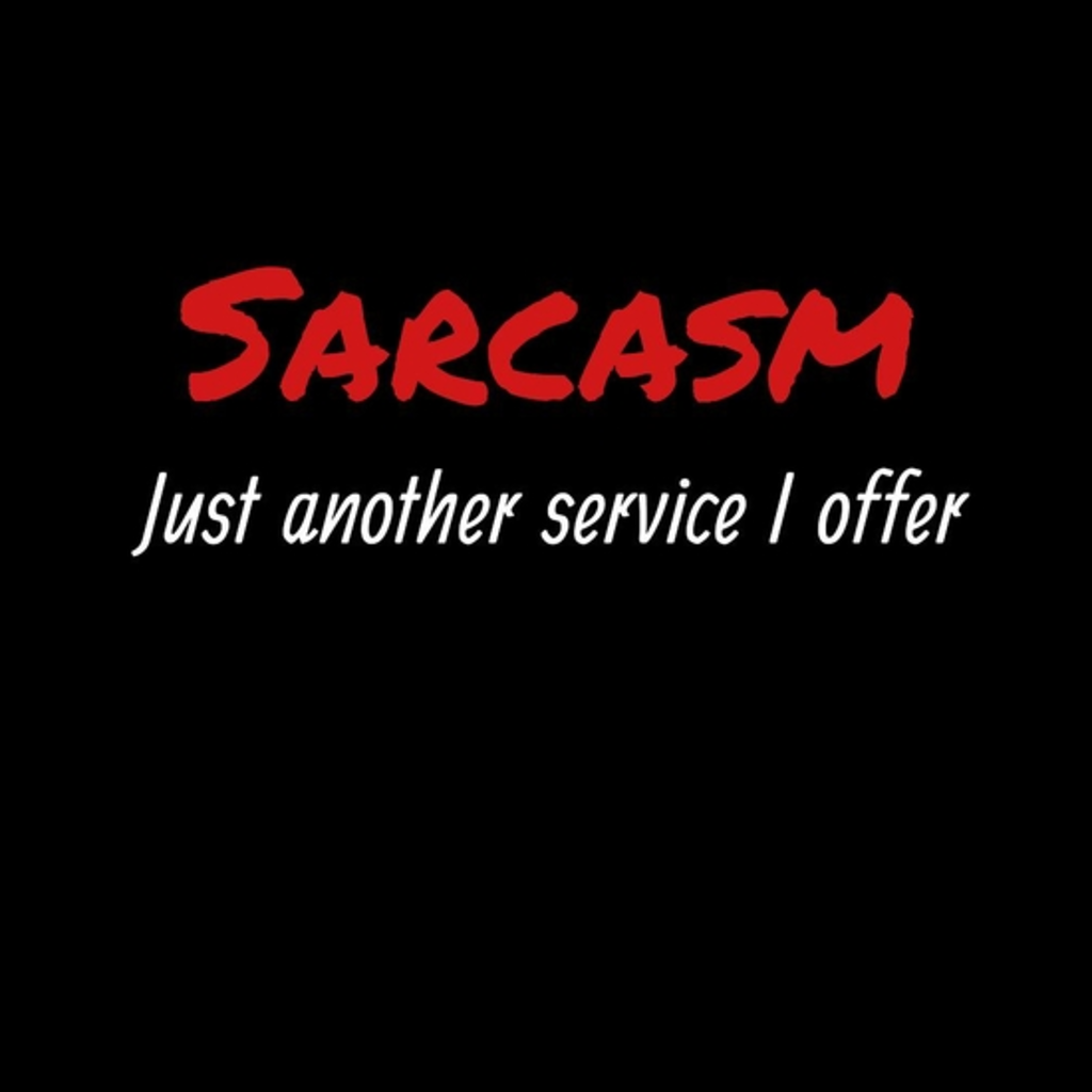 BustedTees: Sarcasm, Just another service I offer