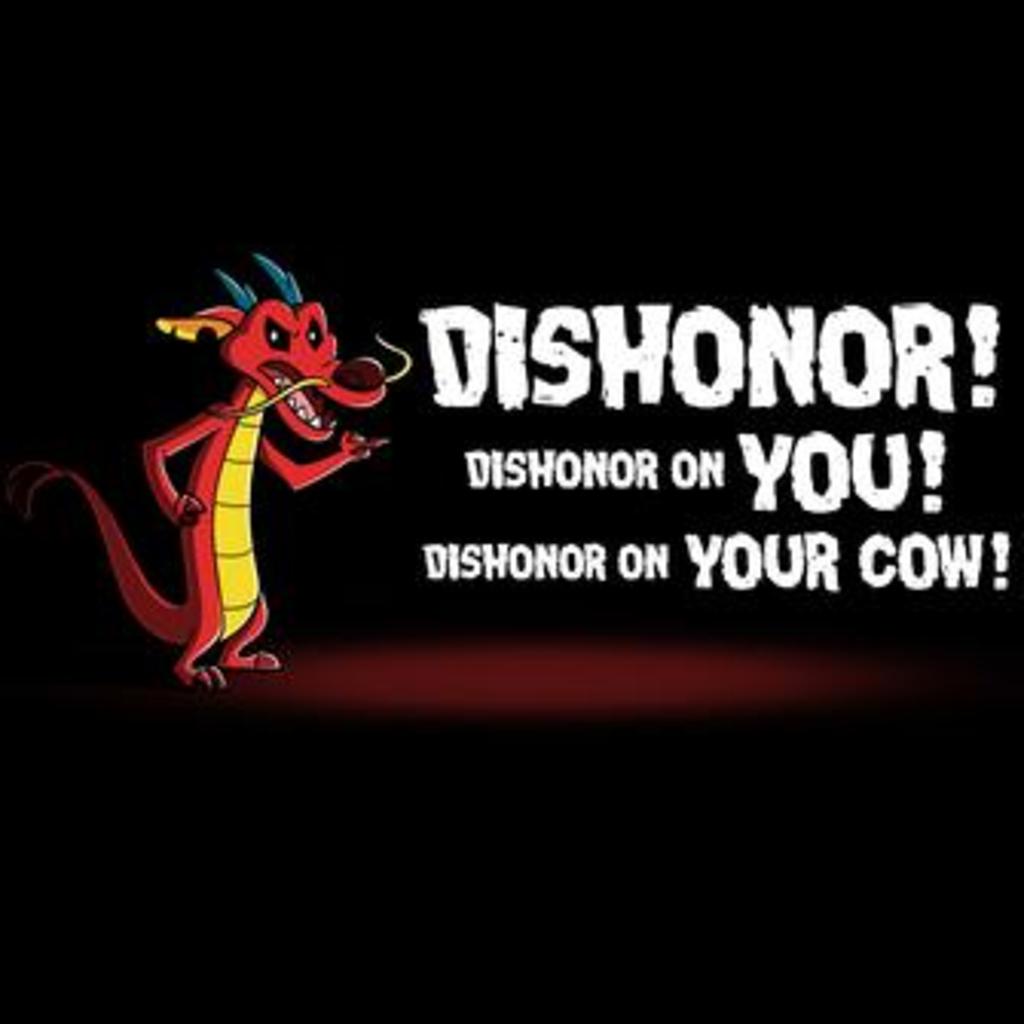TeeTurtle: Dishonor!