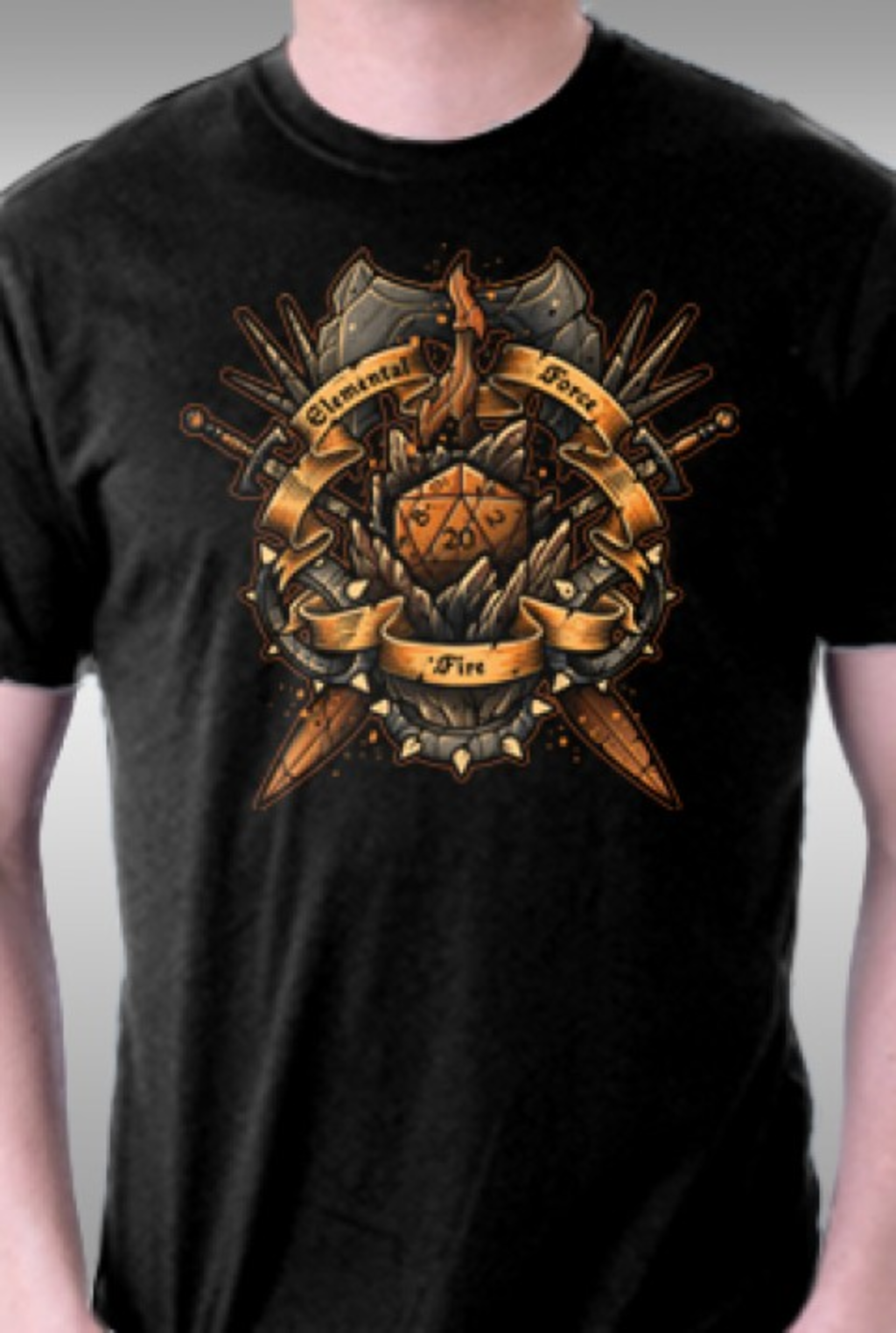 TeeFury: Elemental Force - Fire