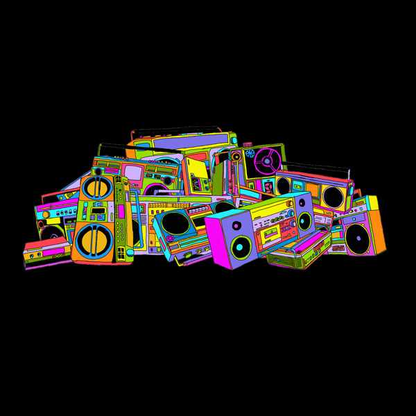 NeatoShop: Neon Boombox