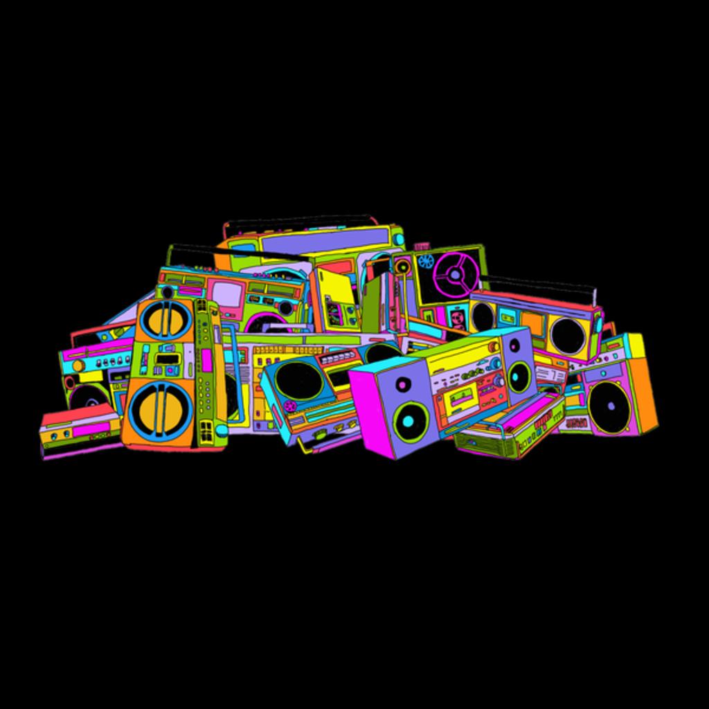 NeatoShop: Neon Boombox