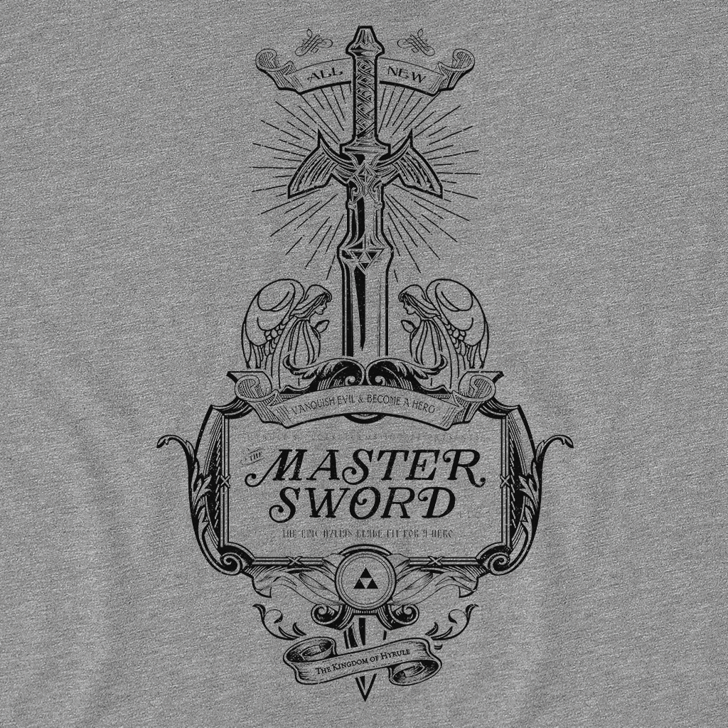 Pop-Up Tee: Master Sword