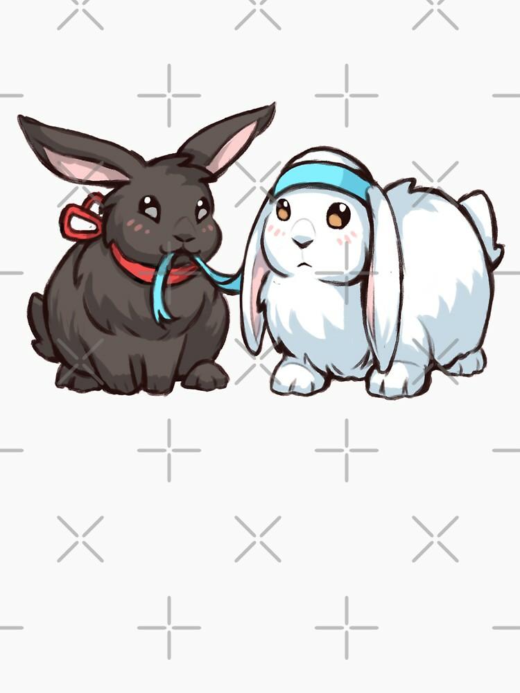 RedBubble: Wangxian bunnies