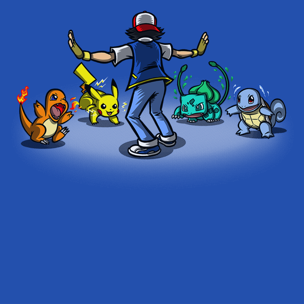 Pop-Up Tee: Gotta Train em all