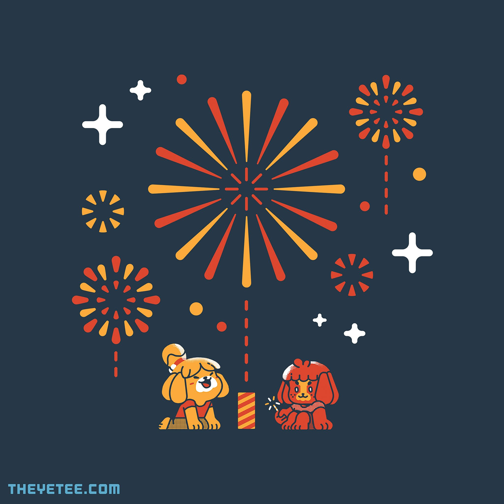 The Yetee: Puppy Fireworks