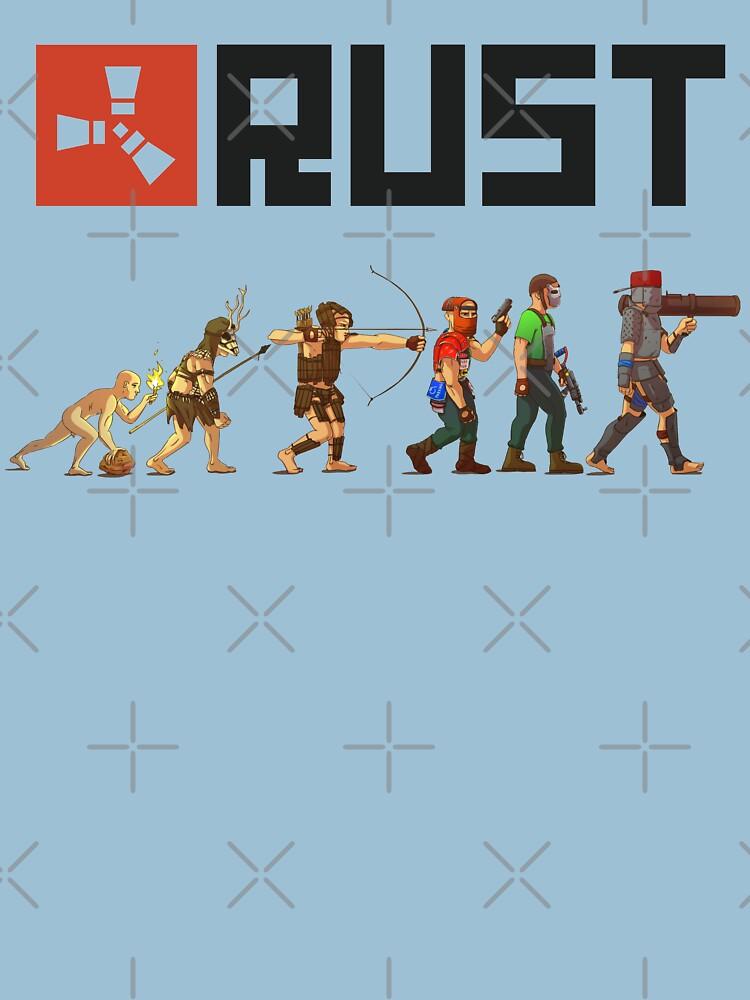 RedBubble: Rust Evolution