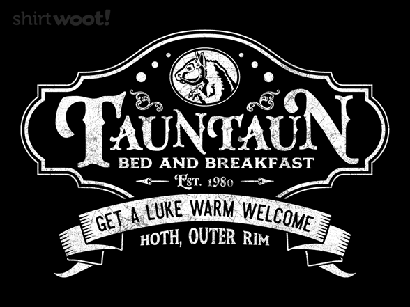 Woot!: Tauntaun Bed and Breakfast