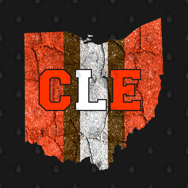TeePublic: Vintage Downtown Cleveland Ohio Skyline Football Downtown Cleveland City Skyline Football Vintage Fan Gift