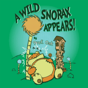 Pop-Up Tee: A Wild Snorax Appears