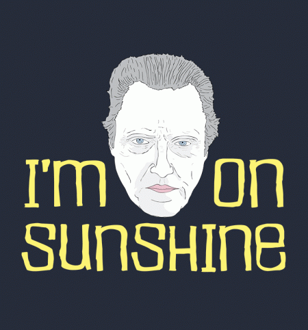 BustedTees: Go Ape: Walken On Sunshine