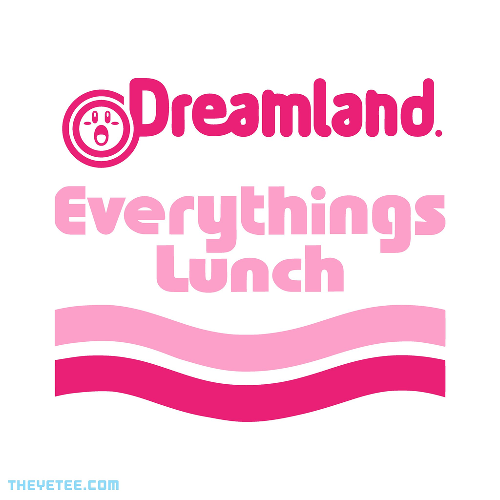 The Yetee: EVERYTHINGS LUNCH