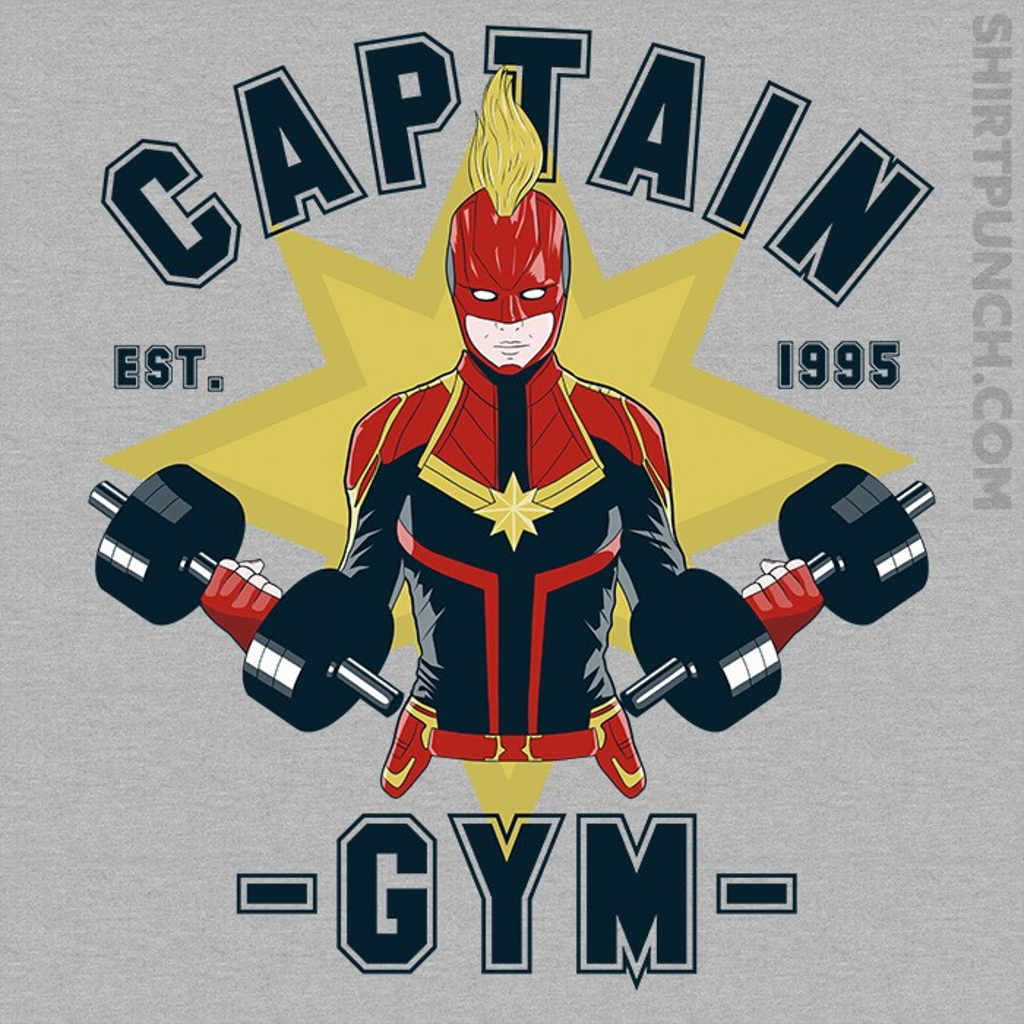 ShirtPunch: Captain Gym