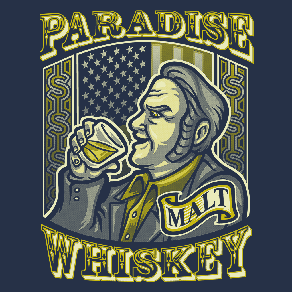 Pop-Up Tee: Paradise Whiskey