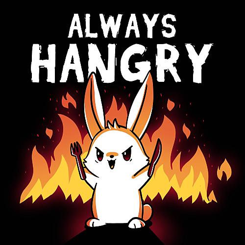 TeeTurtle: Always Hangry (Bunny)