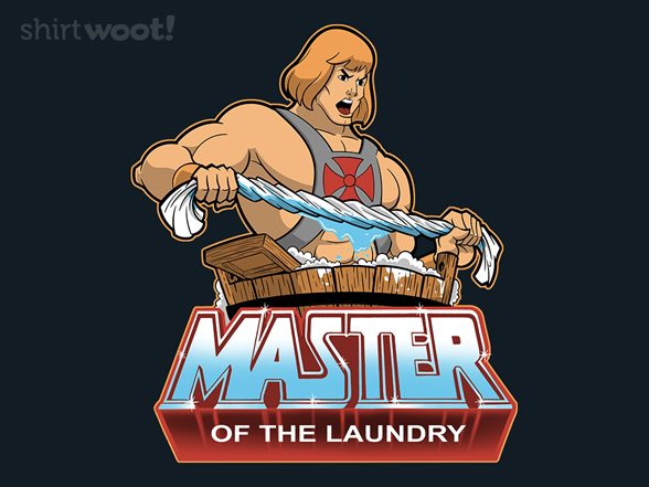 Woot!: Master of the Laundry